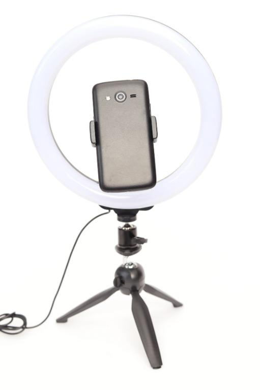 Portable 10inch LED Diva Ring Light Kit + Mini Tripod / BRAND NEW / photovideospot.ca
