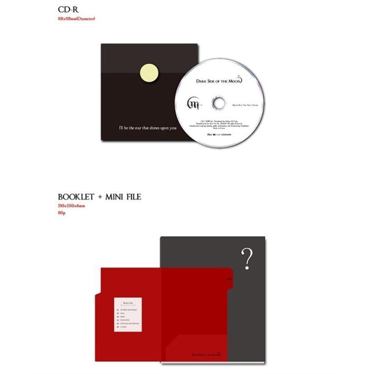 [PREORDER] 문별 MOON BYUL - Dark Side of the Moon / 2ND MINI ALBUM