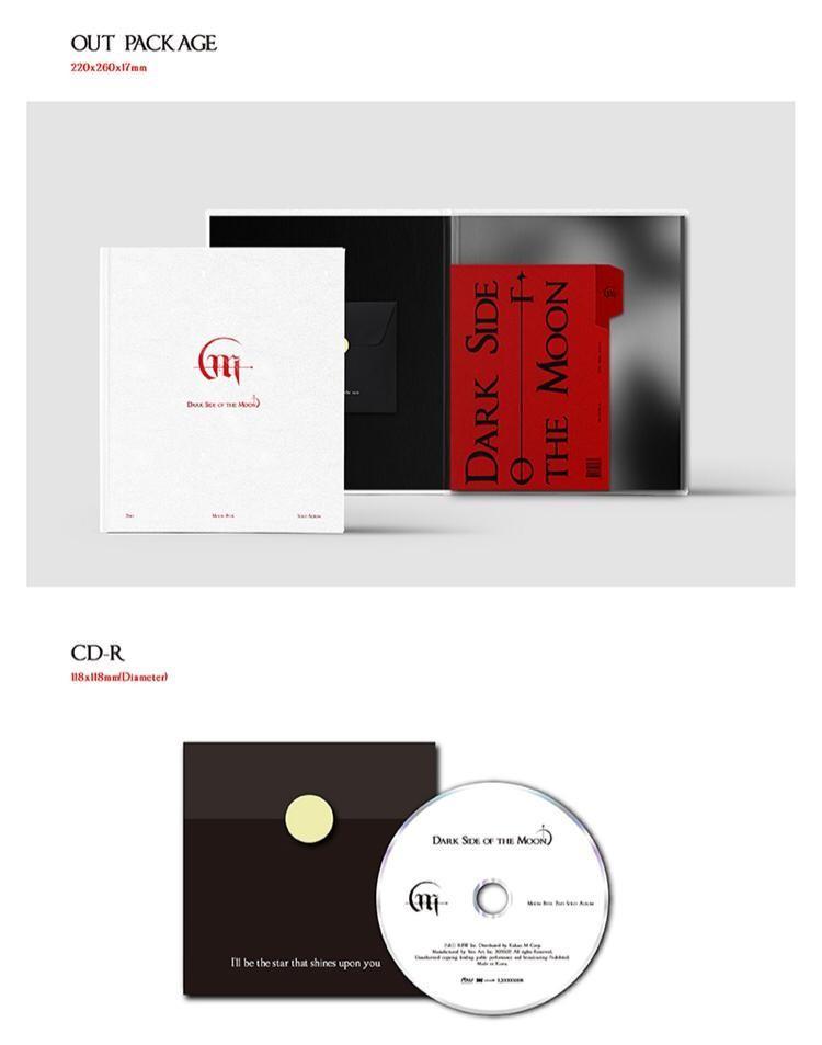 (PRE-ORDER) Moon Byul  MiniAlbum Vol.2 [Dark Side of the Moon]