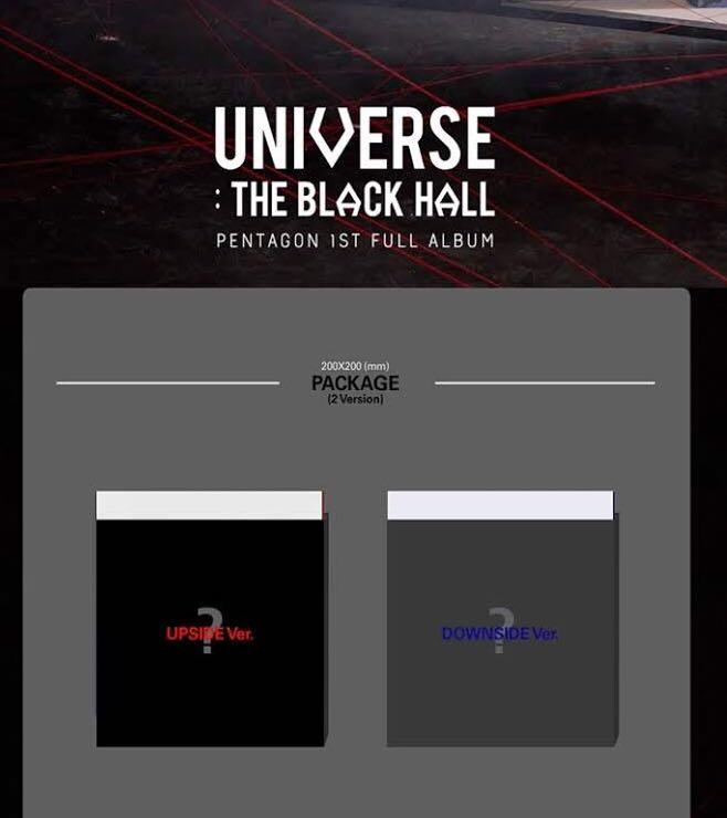 [Pre-Order] PENTAGON - Album Vol.1 (UNIVERSE : THE BLACK HALL)