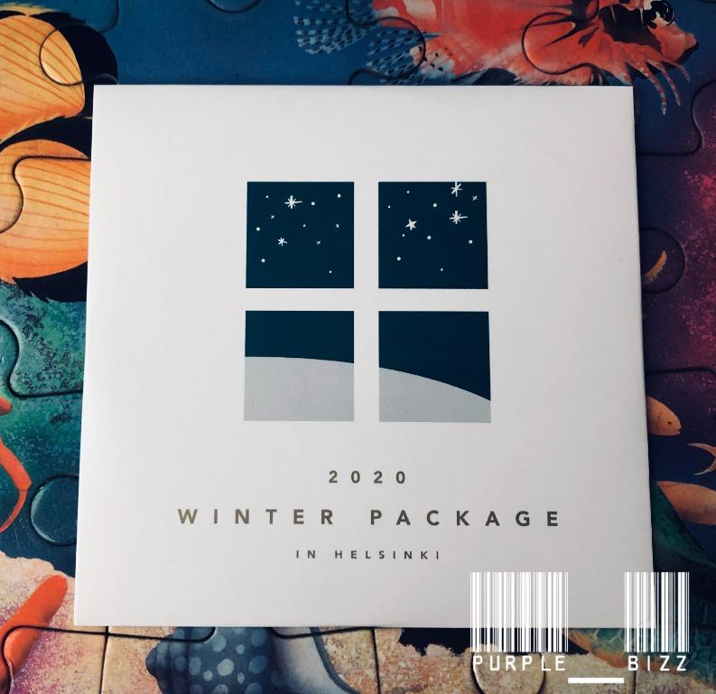 READY Stock - Making DVD - Loose : 2020 BTS WINTER PACKAGE 신보안내서