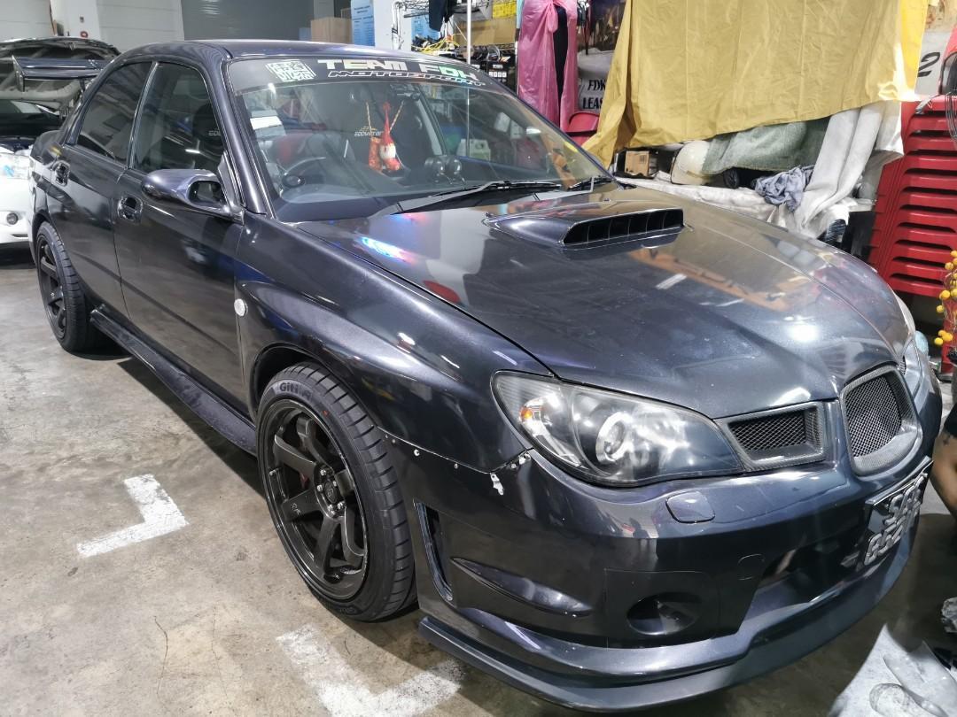 Subaru WRX 2.5 STI (M)