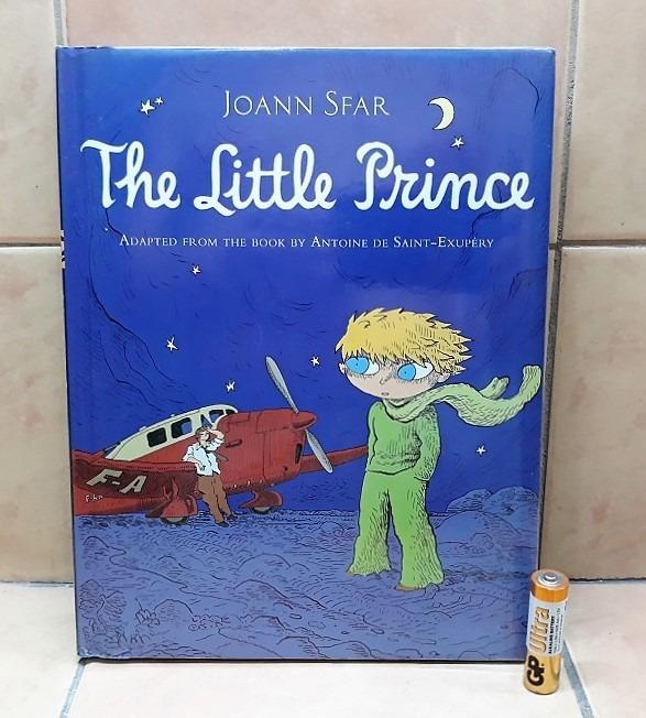 The Little Prince Graphic Novel Hardcover by Joann Sfar (2013)