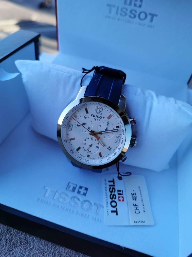 Valentine's gifts for HIM!!! Brand new Tissot watch bought at Switzerland!!!