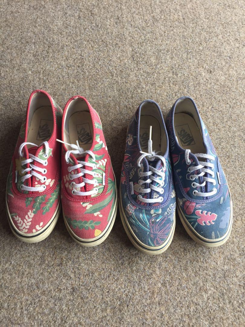 Vans Doren both pairs for $25! Size men's 7/women's 8.5