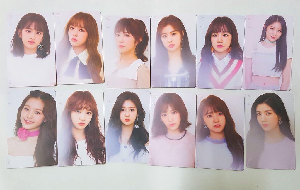 [WTS] IZ*ONE IZONE COLOR*IZ Kihno Photocard Color Ver