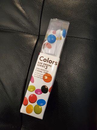 Colors Ear Drops Series 3 Stereo Headphones