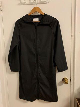 Oak + Fort Long Rain Jacket