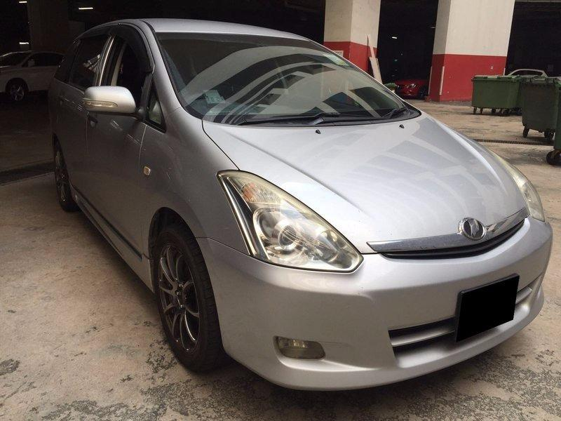 07/02 TO 10/02 FRI-MON TOYOTA WISH $240 (P PLATE WELCOME)