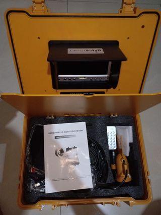 undewater camera minitor system