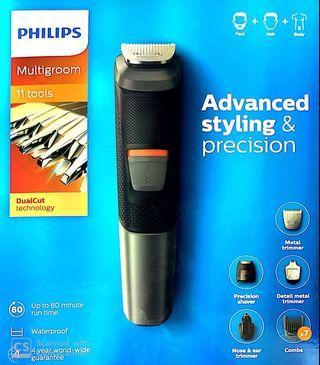 Philips Mg5730/15 Multigroom - 11 in 1 Face Hair Body.