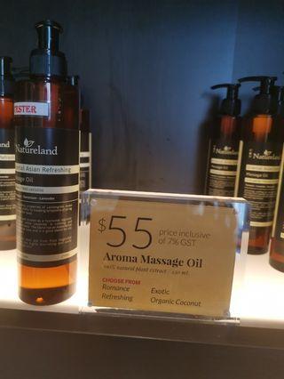 Natureland aroma massage oil