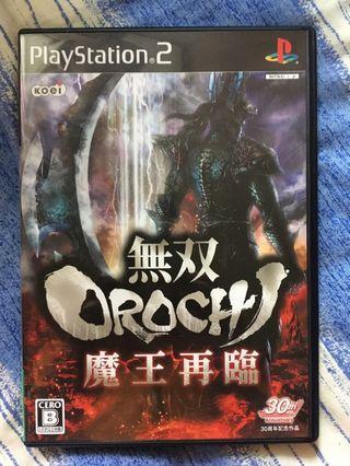 PS2 Game - 無双OROCHI 魔王再臨
