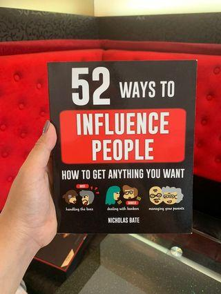 52 Ways to Influence People