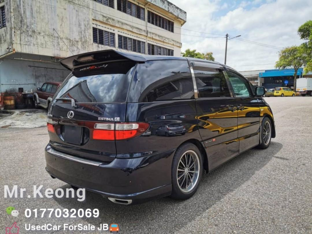 2004TH/Reg:2013TH TOYOTA ESTIMA 2.4AT AERAS L-EDITION 7 SEATER Family Carking/TipTop🚘 Cash🎉OfferPrice💲Rm29,800 Only🎉LowestPrice InJB‼Call📲KeongForMore🤗