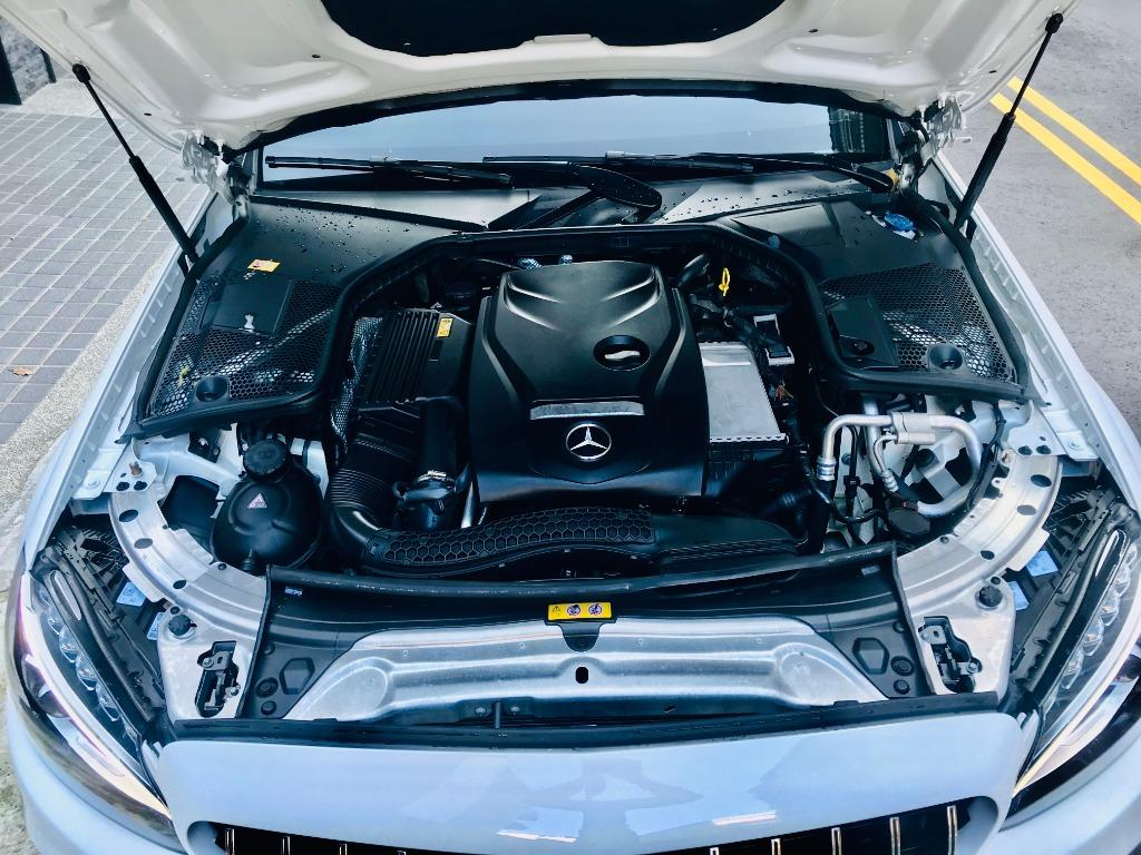 2016 Benz C300 Coupe 4Matic   除了23P 其他都有 滿配...