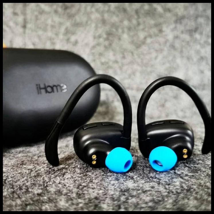 American iHome true wireless bluetooth earphone sports waterproof sweat-proof in-ear headphones