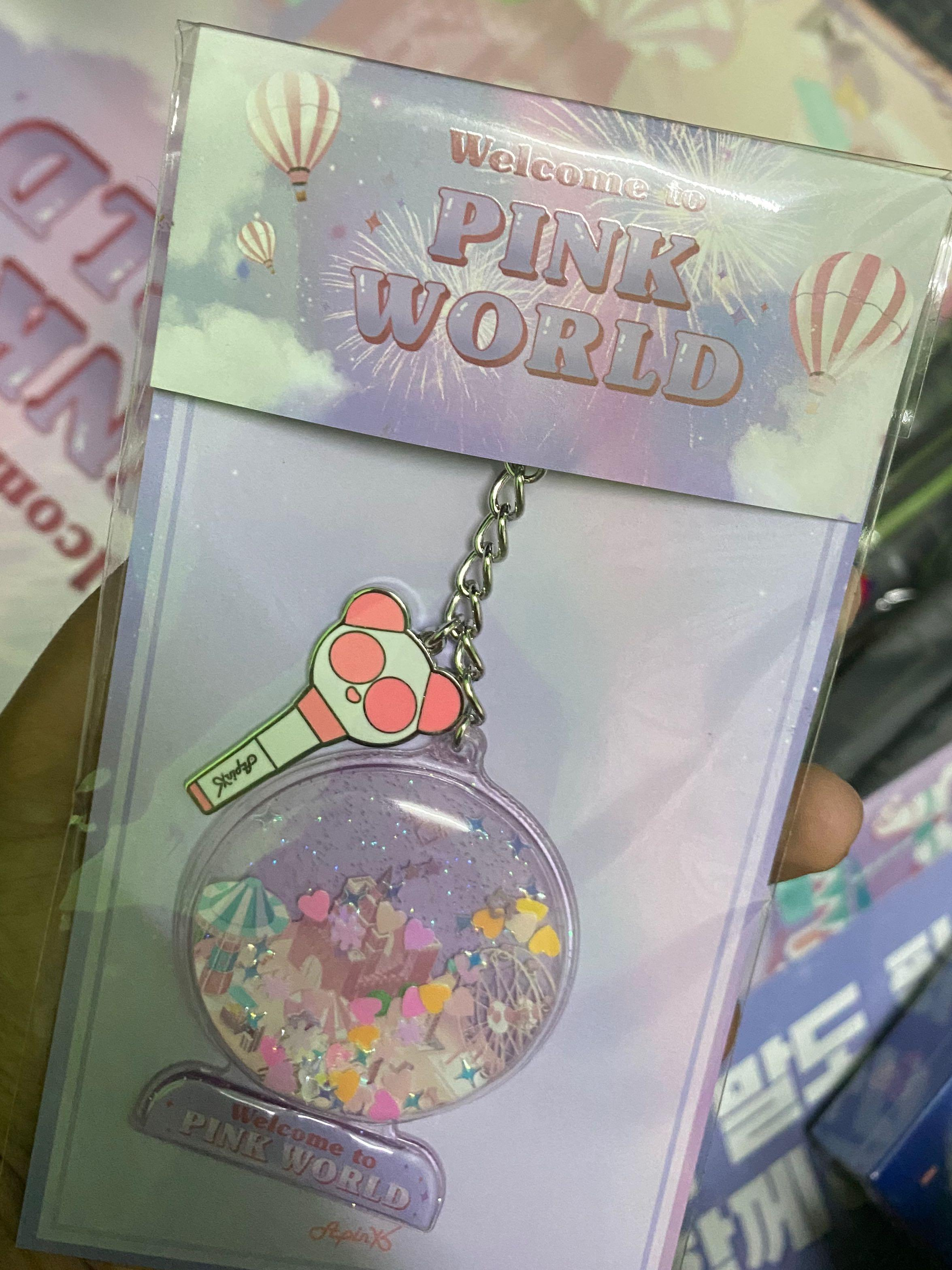 APINK 6th CONCERT PINK WORLD MD MERCHANDISE - Keyring