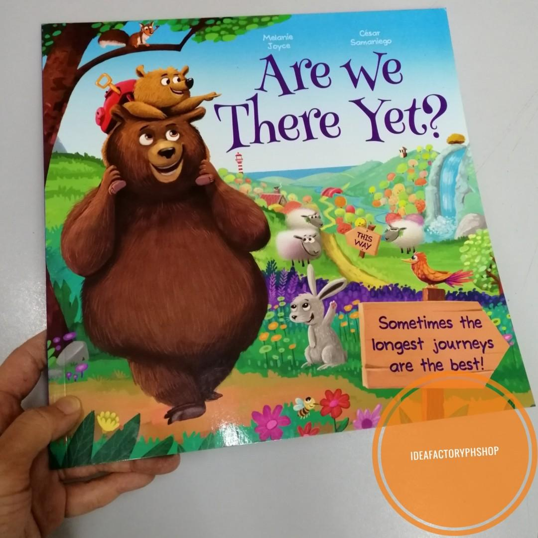 Are We There Yet? Melanie Joyce Bedtime Story Book Children's Book