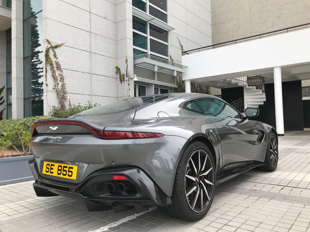Aston Martin Vantage 4.0  Twin-Turbo Auto