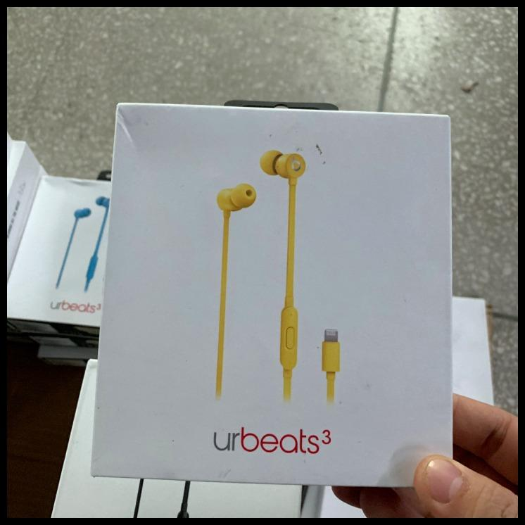 Beats urBeats 3 Headphones In-Ear Subwoofer Noise Reduction Magic Earbuds