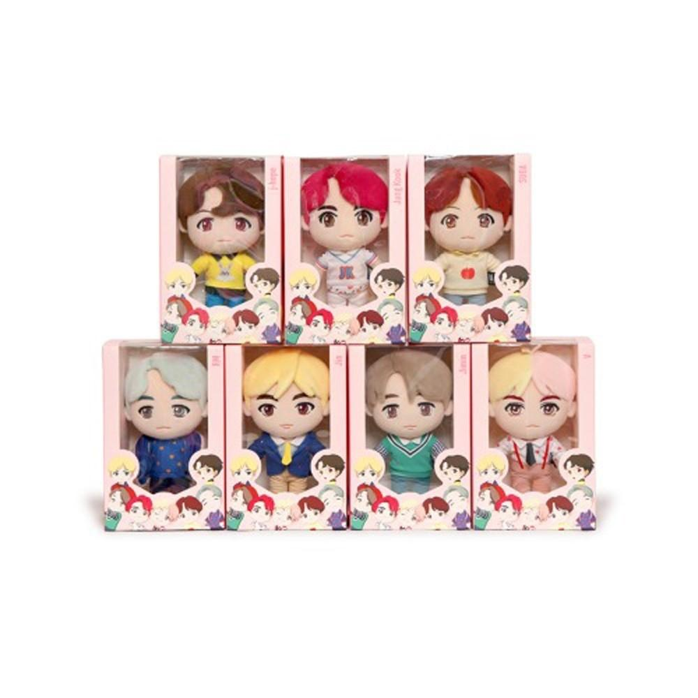 BTS POP-UP HOUSE OF BTS Official MD Reusable Tumbler + Plush Doll