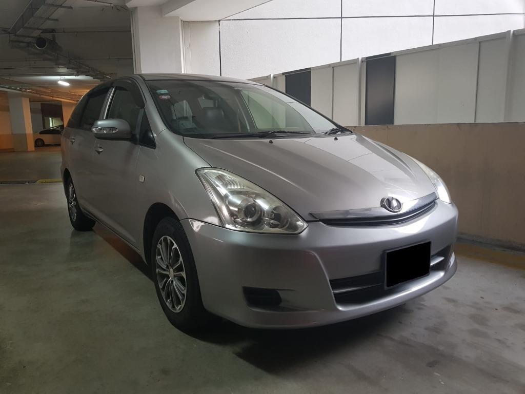Car Rental Toyota Wish Gen1 Fri-Mon Weekend Package 21-24 Feb ( Woodlands 11 )