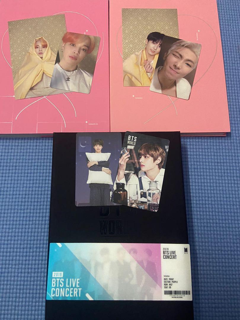 Clearance sale bts mini photocard love yourself tour mini poster season greetings persona album