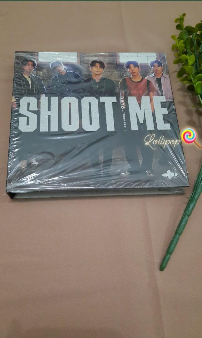 DAY6 - Shoot Me - Youth Part.1 + photocard [Unsealed] #maunabung