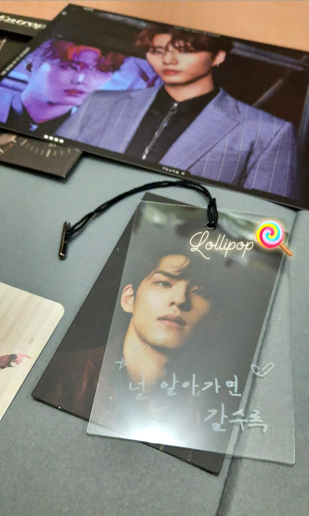 DAY6 - The Book of Us : Entropy + Photocard [Unsealed] #maunabung