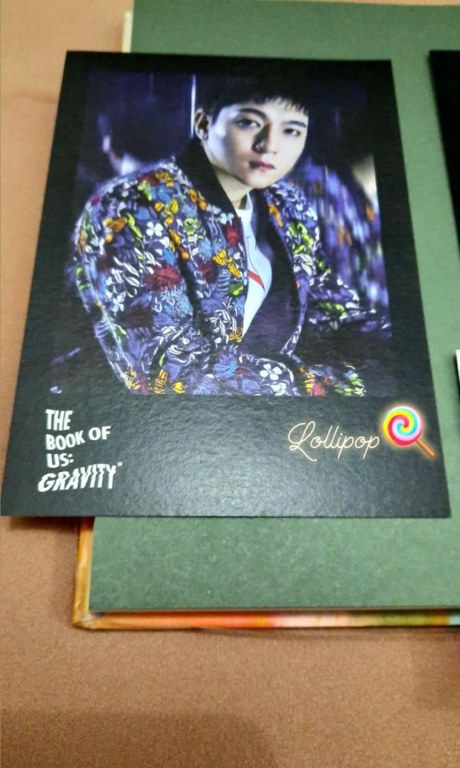DAY6 - The Book of Us : Gravity + Photocard [Unsealed] #maunabung