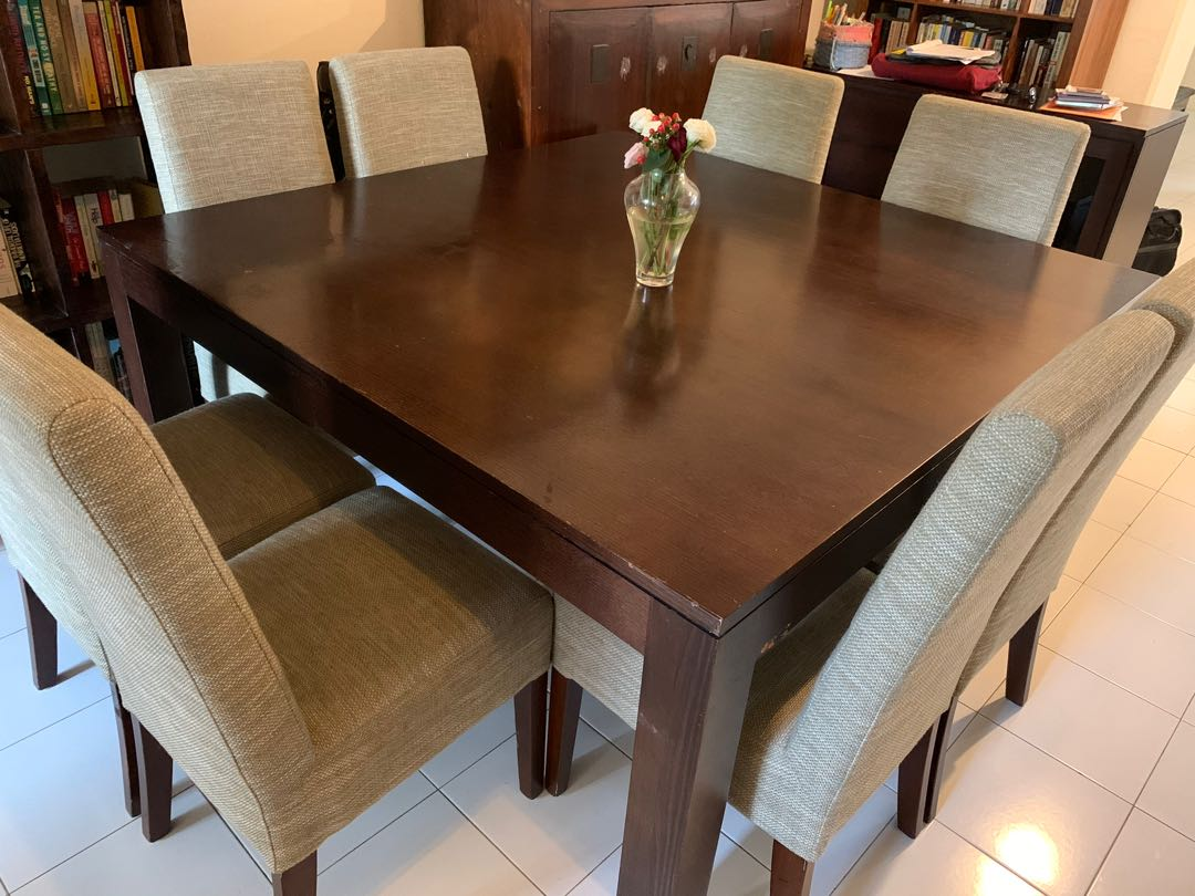 Dining Table With 8 Chairs Furniture