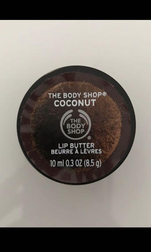 FREE COCONUT BODY SHOP LIPBALM WITH ANY PURCHASE OVER $5