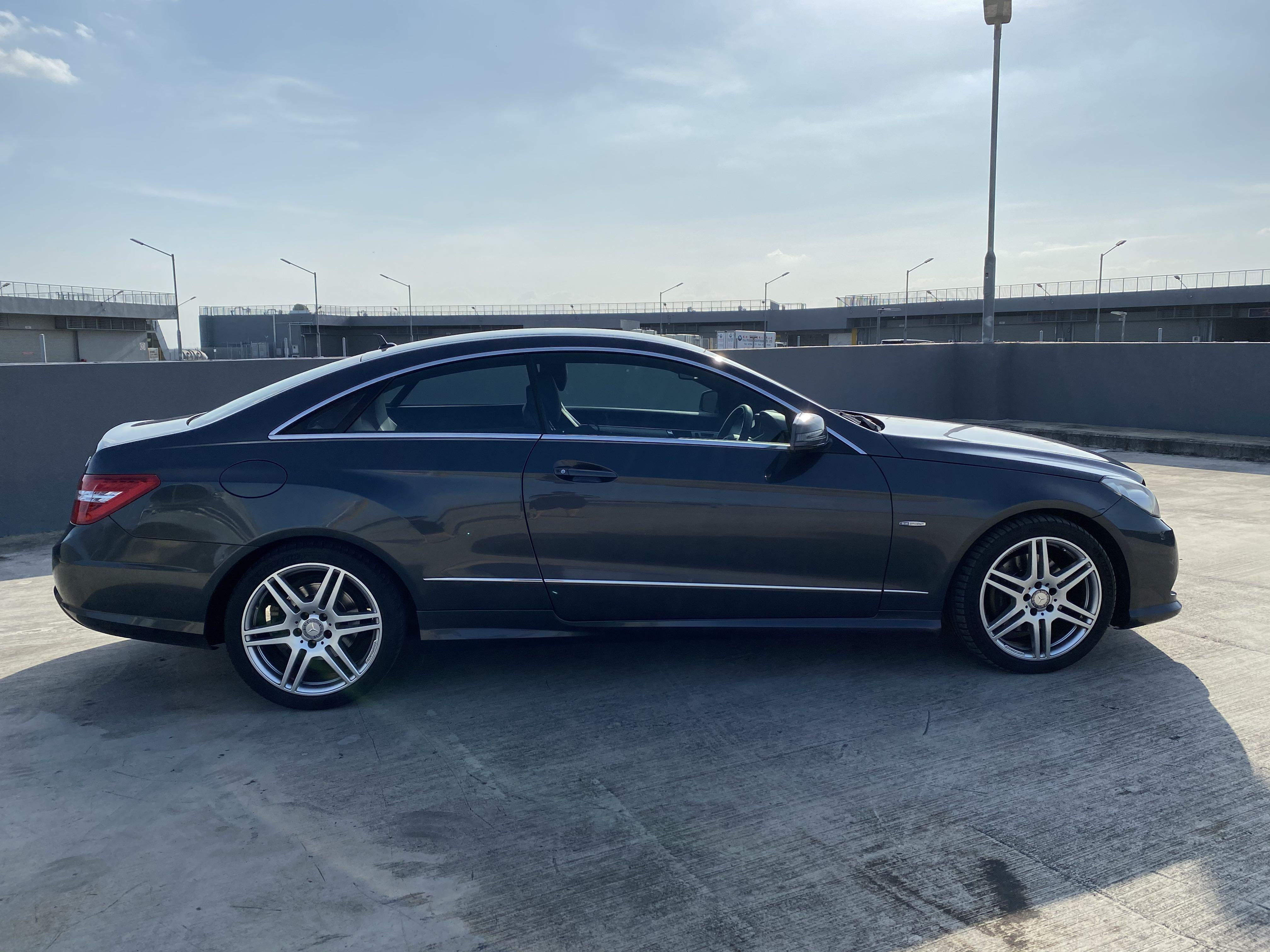 Mercedes Benz E250 Coupe E class 2 door CHEAPEST unit !