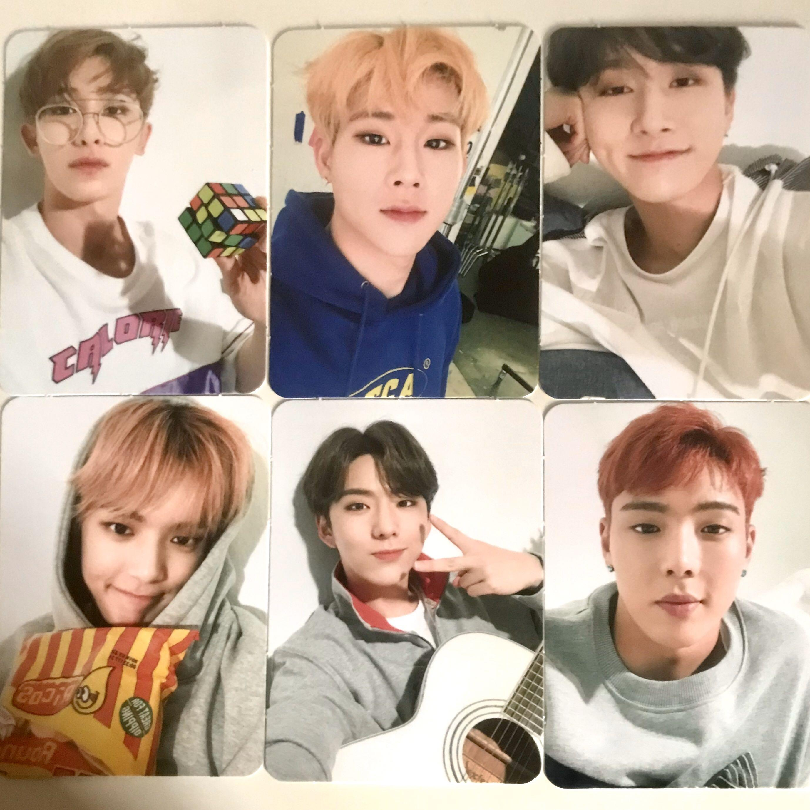 MONSTA X PC 4TH OFFICIAL FAN CLUB MONBEBE PC AND POSTCARD