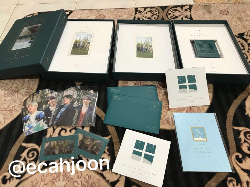 [READY STOCK] BTS 2020 WINTER PACKAGE (PHOTO SET)