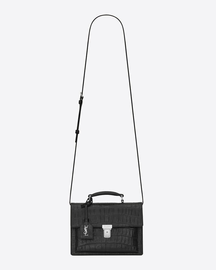 Saint Laurent black High School Mini Crossbody bag (YSL)