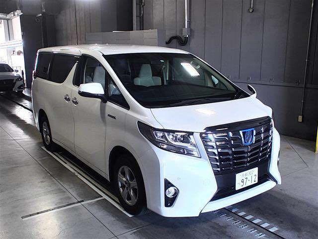 Toyota Alphard HYBTID X Auto