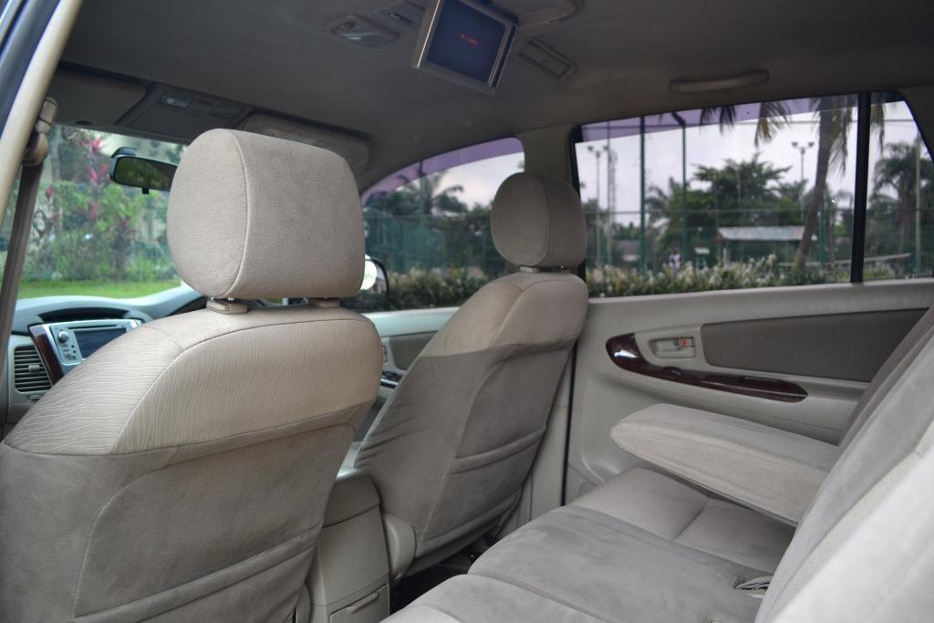 Toyota Grand Innova V Manual 2011 Hitam Istimewa (Tdp 10Jt)
