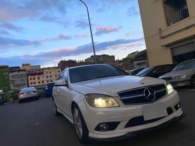 W204 C300 白色 09年