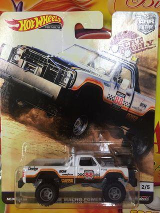 Hotwheels Dodge Macho Power Wagon