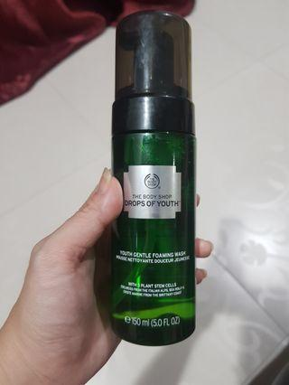 The Body Shop Drops Of Youth youth gentle foaming wash 150ml