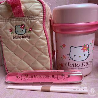 【Hello Kitty】不鏽鋼保溫便當罐 800ml