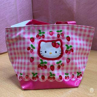 【Hello Kitty】KITTY草莓便當袋