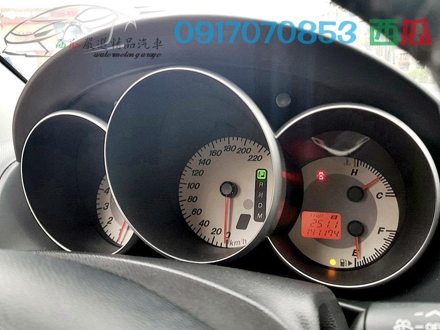 一手女用教師車 少開 2009年 MAZDA 3 1.6 因換休旅車故忍痛售出 內外新 車況超佳~有工作即可全額貸!