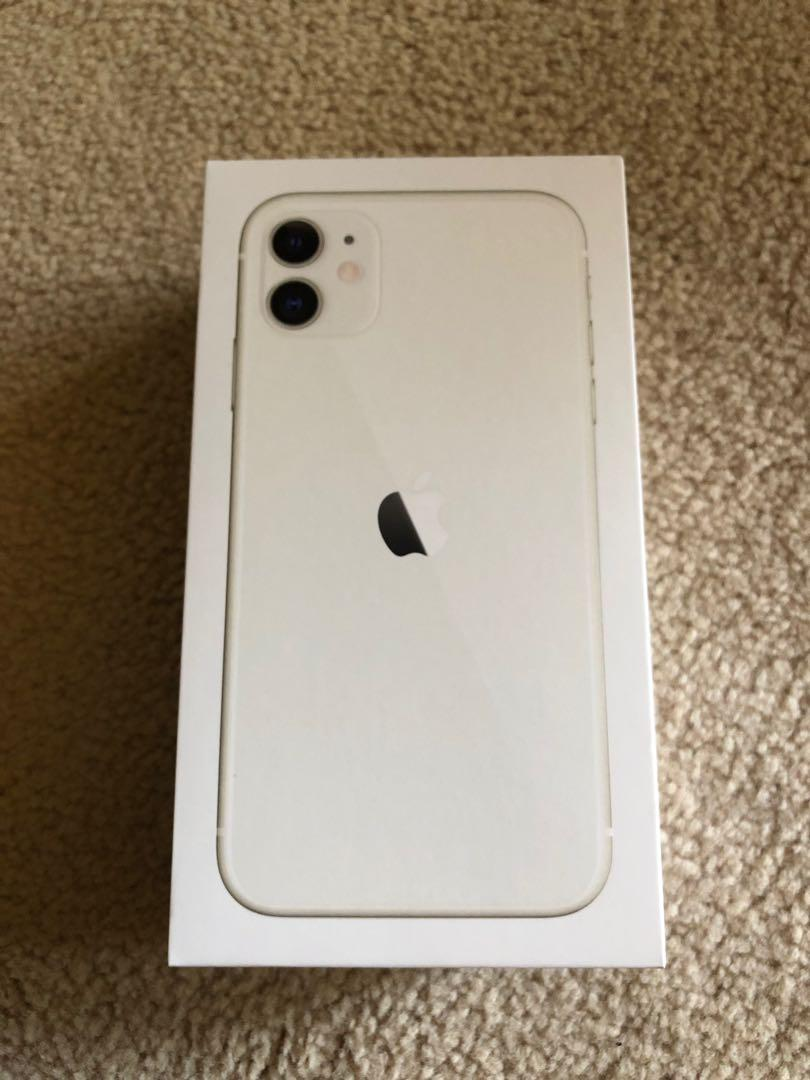 Apple iPhone 11 - white 64gb white model - brand new