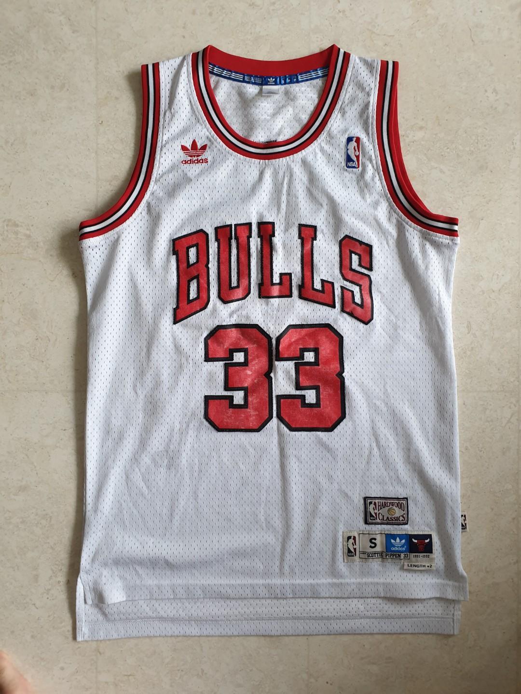Authentic Adidas Originals NBA Men's Chicago Bulls 1991-92 Retro ...