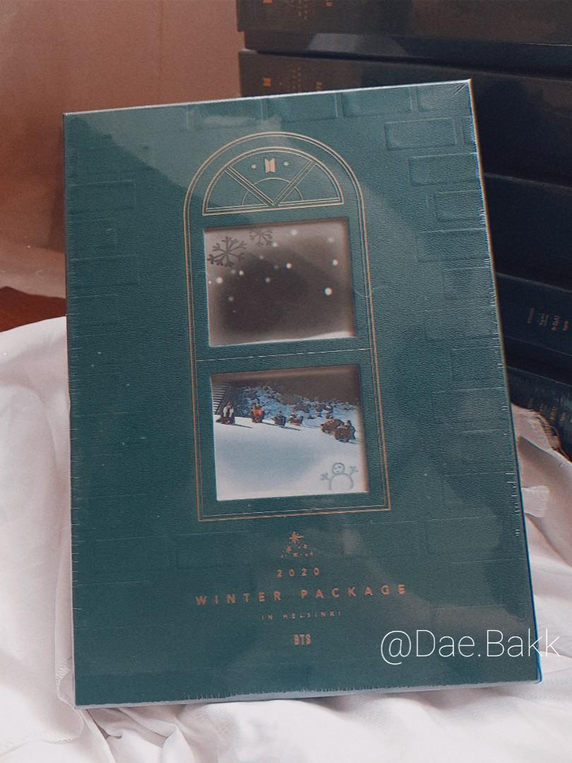 BTS Winter Package 2020 in Helsinki DVD Album