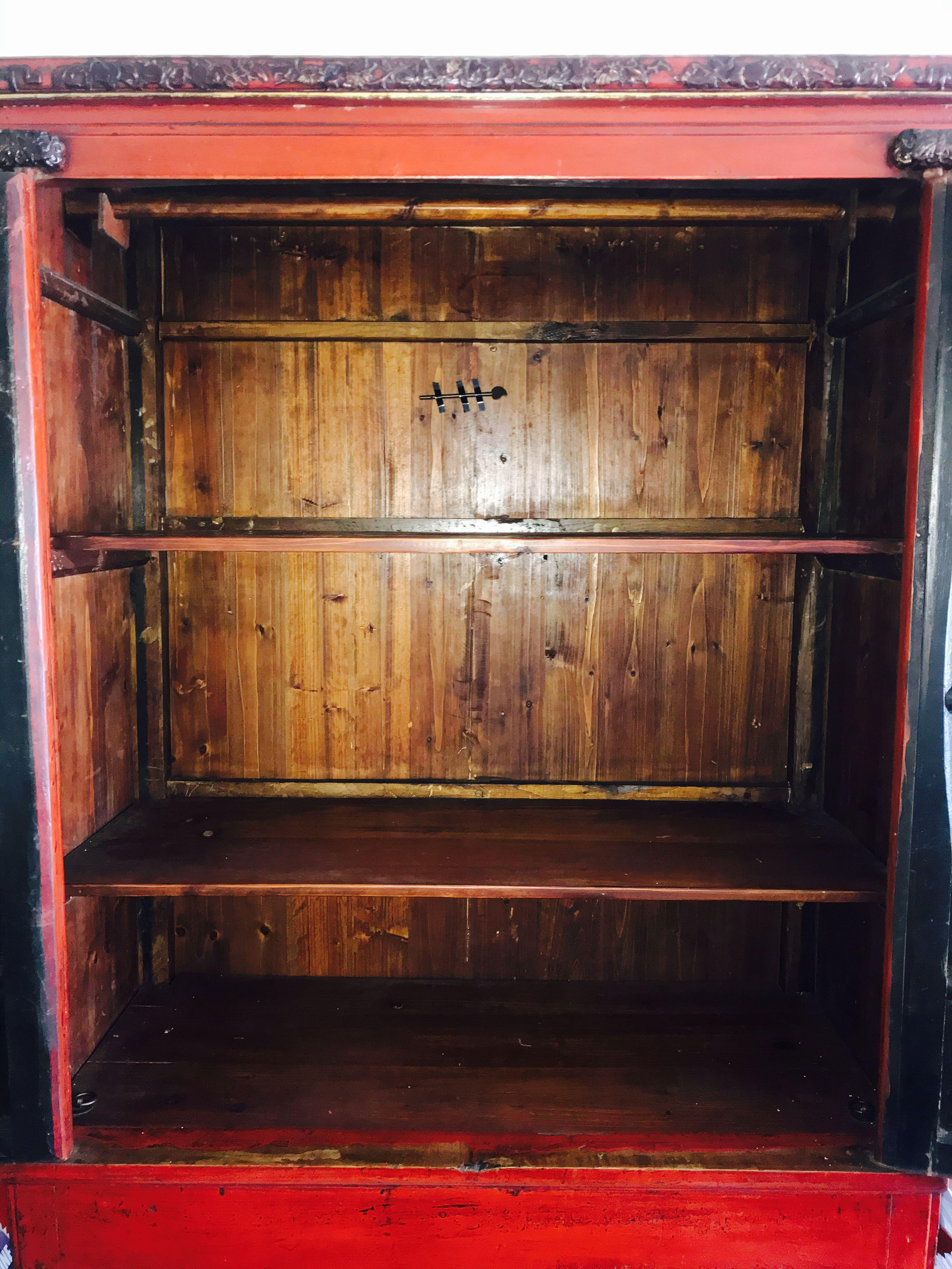 Chinese Antique Wardrobe