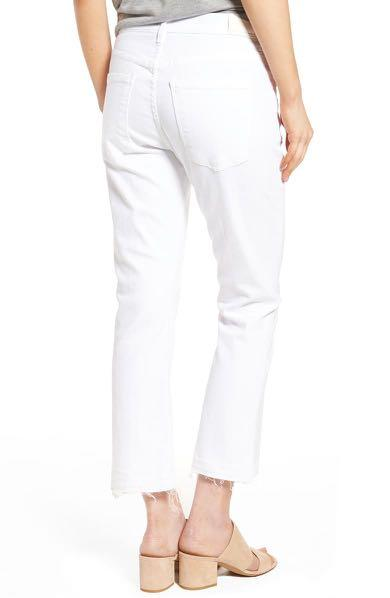 Citizens of humanity drew crop flare high waisted jeans